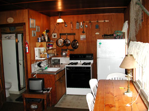 View of Kitchen Area - Cabin #3
