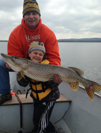 Pool 4 and Lake Pepin Fishing